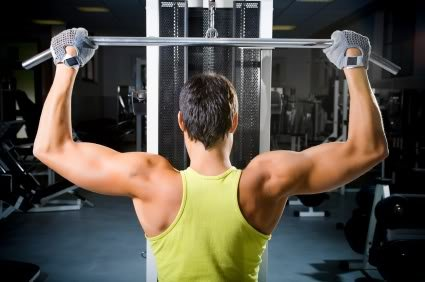 Middle Back Lift Lat Pull Downs